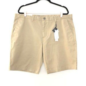 NEW Calvin Klein 40 Body Fit Khaki Tan Shorts